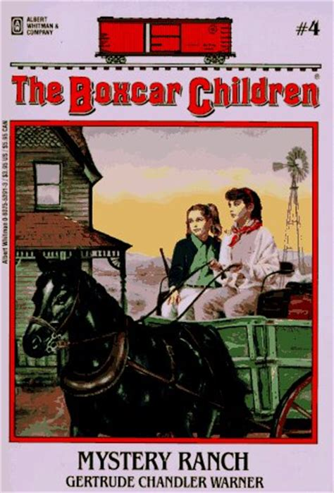 mystery ranch  boxcar children   gertrude