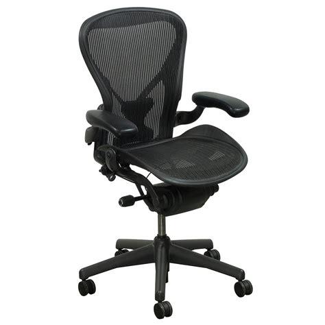 herman miller aeron posturefit used size b task chair