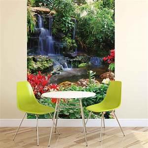 Poster Mural Nature : cascade for t nature poster mural papier peint acheter le sur ~ Teatrodelosmanantiales.com Idées de Décoration