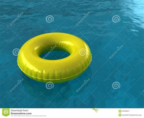 Pool Innertube Stock Illustration. Image Of Inflatable