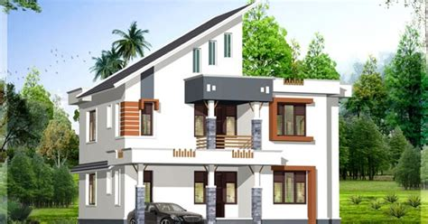 1900 sq. ft. contemporary Kerala home design