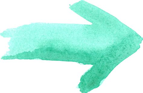 10 Watercolor Arrows (PNG Transparent) | OnlyGFX.com