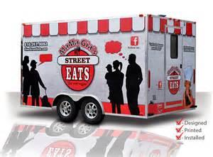 Food Truck Trailer Graphics