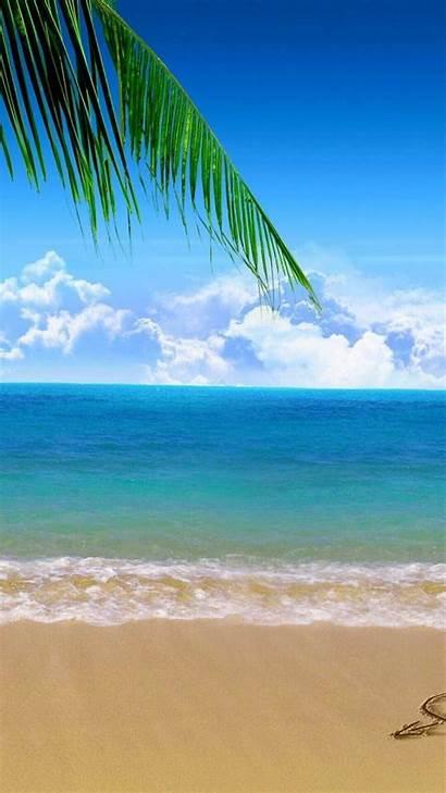 Beach Iphone Wallpapers Backgrounds Ocean Winter Sky