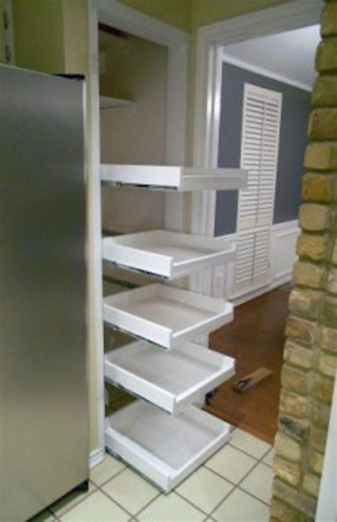 25 best ideas about pull out shelves on small