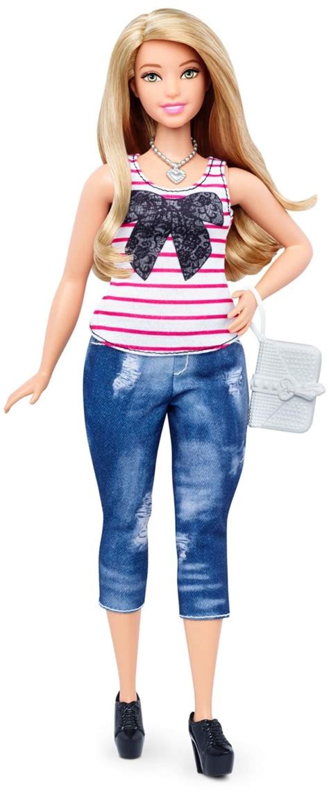 Mattel Remakes Barbie Dolls To Include A Curvy Body Type