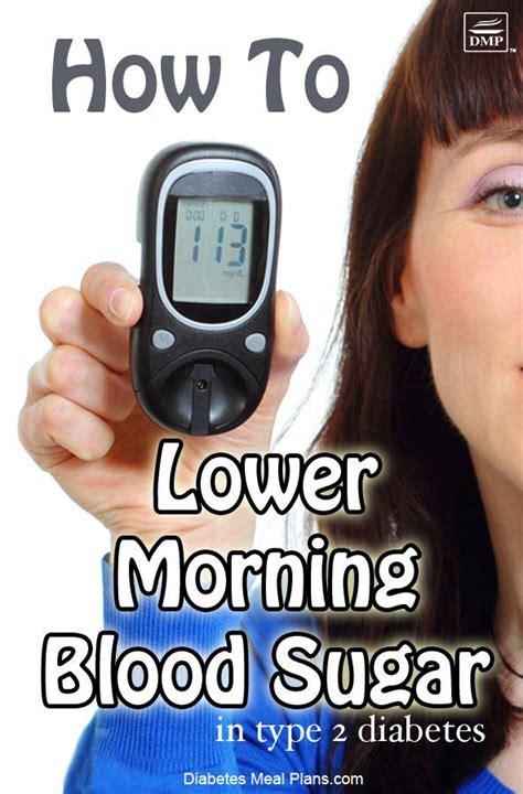 morning blood sugar