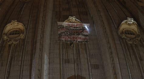 altezza cupola san pietro passa la notte sulla cupola di san pietro per protestare