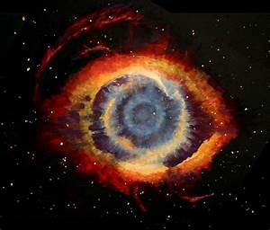 Helix Nebula 'Giant Eye' In Space Spotted By NASA ...