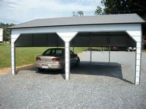 Metal Carports with Side Entrance