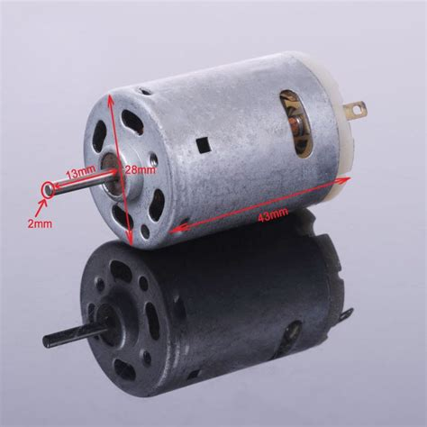 Motor Electric 380 by 380 Ordinary Micro Motor High Power Electric Model Car