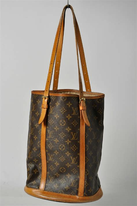 vintage nov louis vuitton monogram petit bucket