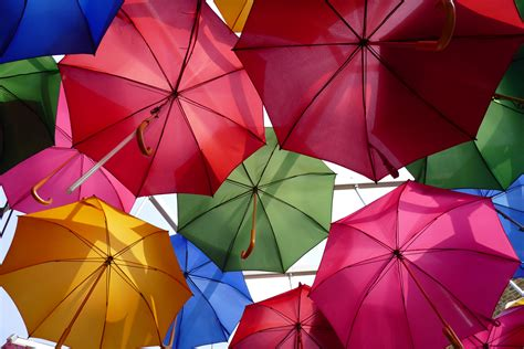 wallpaper umbrellas colorful panasonic lumix cm stock