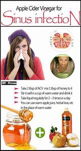 How to Clear Sinus Infection with Apple Cider Vinegar