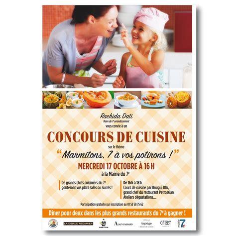 concours cuisine contenus g a print