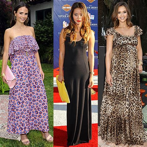 celebrities wearing maxi dresses popsugar fashion