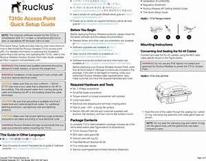 Ruckus Wireless T310 T310  C  D  Access Point User Manual