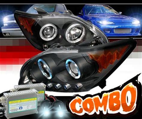 2008 scion tc hid xenon sonar halo projector headlights