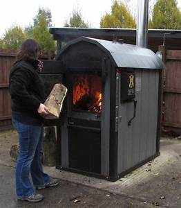 THE UK'S ONLY MCS-APPROVED OUTDOOR WOOD-GASIFICATION BOILER
