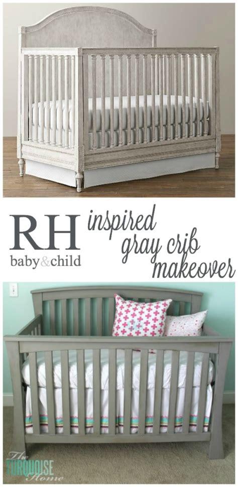 restoration hardware baby crib beautiful gray crib makeover with sloan chalk paint