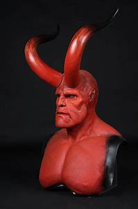 HELLBOY (2004) - Hellboy (Ron Perlman) Facial Appliance ...