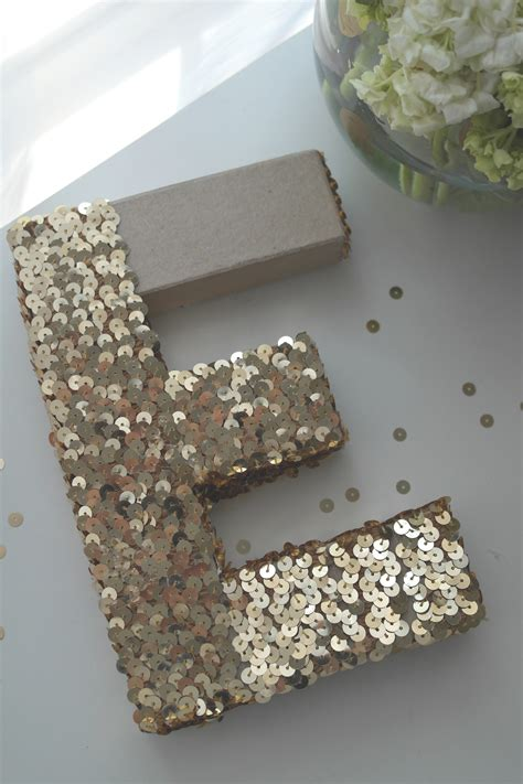 learn     easy sequin monogram letter catch