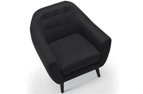 livre de cuisine pas cher fauteuil scandinave fidelio tissu gris noir fauteuil