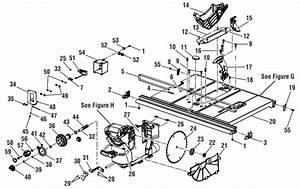 Ridgid Chop Saw Parts Diagram