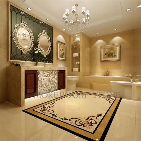 hot sale  water jet floor marble medallions