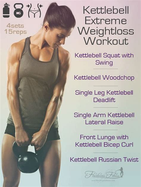 kettlebell workouts training fitness