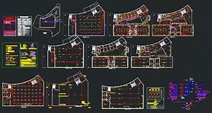 Cultural Center Electrical Plan DWG Plan for AutoCAD