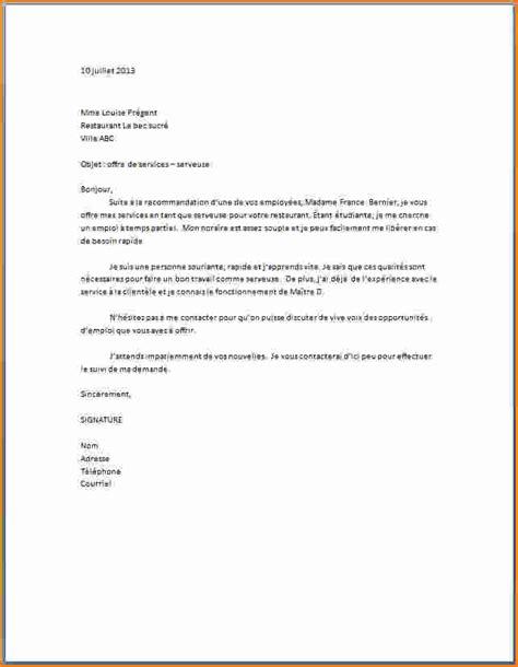 exemple lettre de motivation cuisine modele lettre de motivation restauration collective contrat de travail 2018