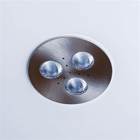 outdoor led puck lights trivue dimmable led puck light recessed downlight