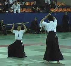 Atarashi Naginata basic stances | Training weaponry ...