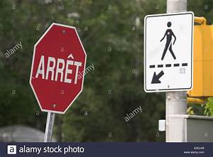 Panneau Stop Paris : french stop sign stock photos french stop sign stock ~ Melissatoandfro.com Idées de Décoration