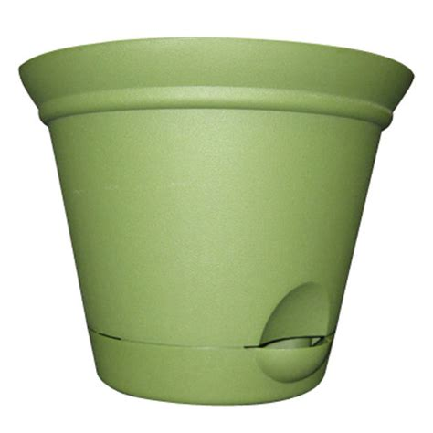 walmart planters mainstays 5 2 quot self watering planter gardening lawn care walmart com