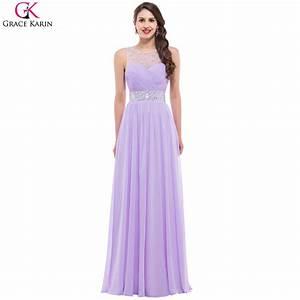 Online get cheap long purple bridesmaid dresses for Purple long dress for wedding