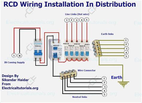 rcd mcb wiring diagram vivresaville