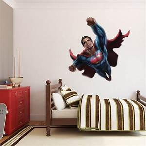 superman wall decal superhero wall design primedecals With superman wall decal