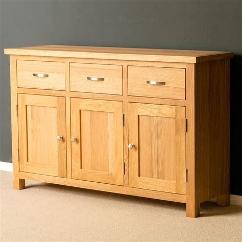 Light Oak Sideboard oak large sideboard brand new light oak cupboard