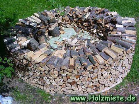 Bauanleitung Einer Scheitholz-miete