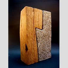 Wood And Stone Bernard Goethals  Conceptuel