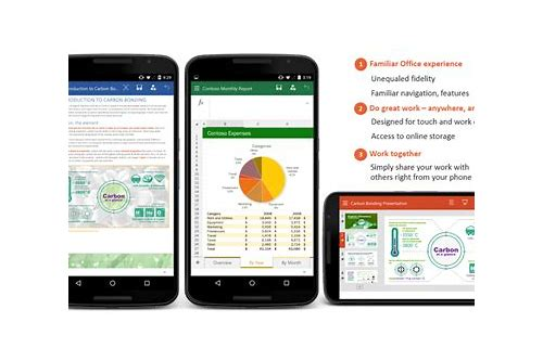 word excel free download for android