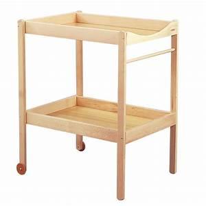 Accessoire Table à Langer : table langer bois ~ Teatrodelosmanantiales.com Idées de Décoration