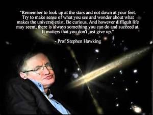 Stephen Hawking Song Black Holes - YouTube