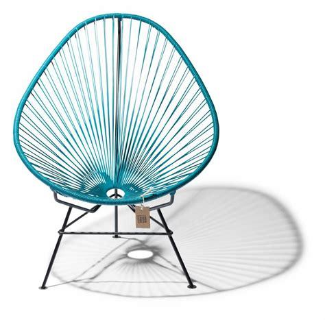 siege acapulco fauteuil acapulco en couleur bleu pétrole le fauteuil