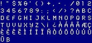 Dot Matrix Font
