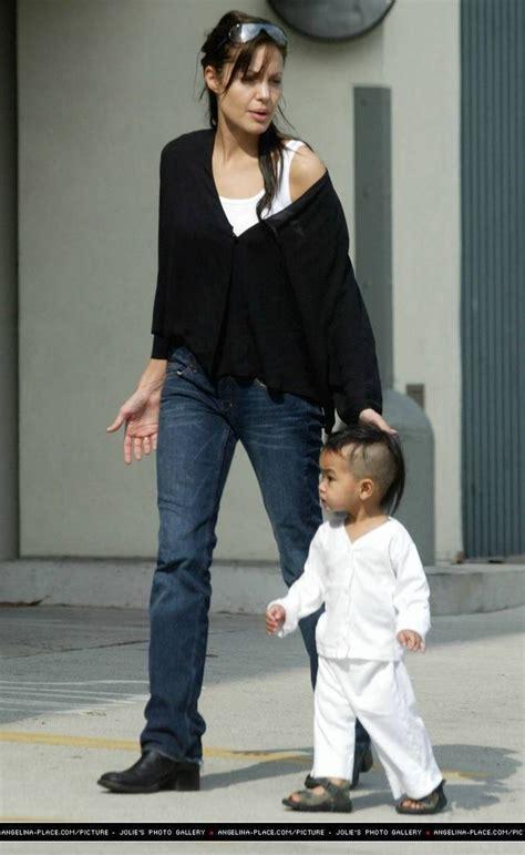 Angelina Jolie Mit Maddox Angelina Jolie Maddox