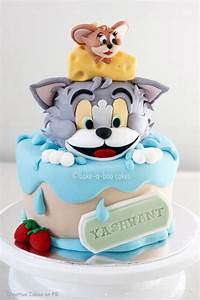 Tom & Jerry cake | Cake and Cupcake Design | Pinterest