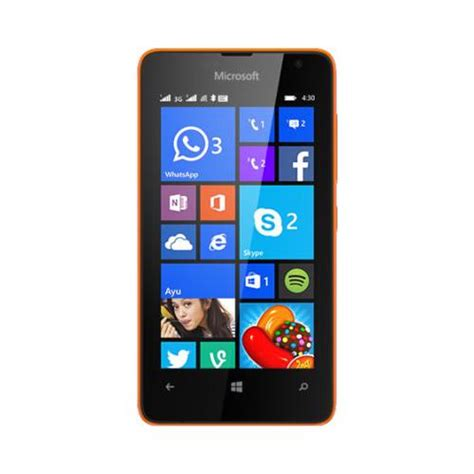 Lumia Mobile Phones by Microsoft Lumia 430 Dual Sim Mobile Phones